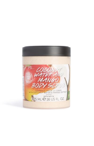 Körperpeeling m. Kokosnusswasser & Mango