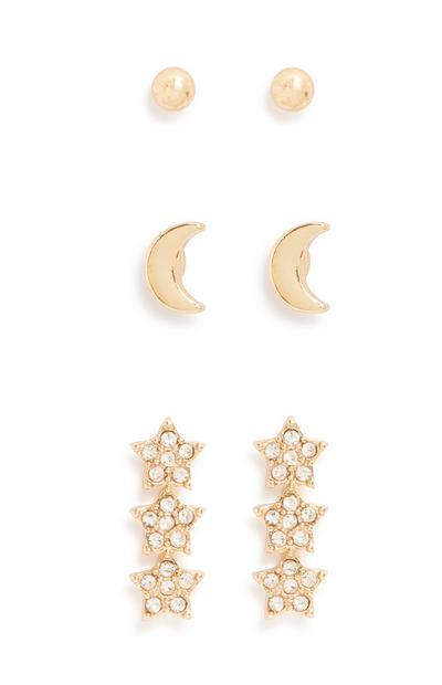 Earrings 3Pk