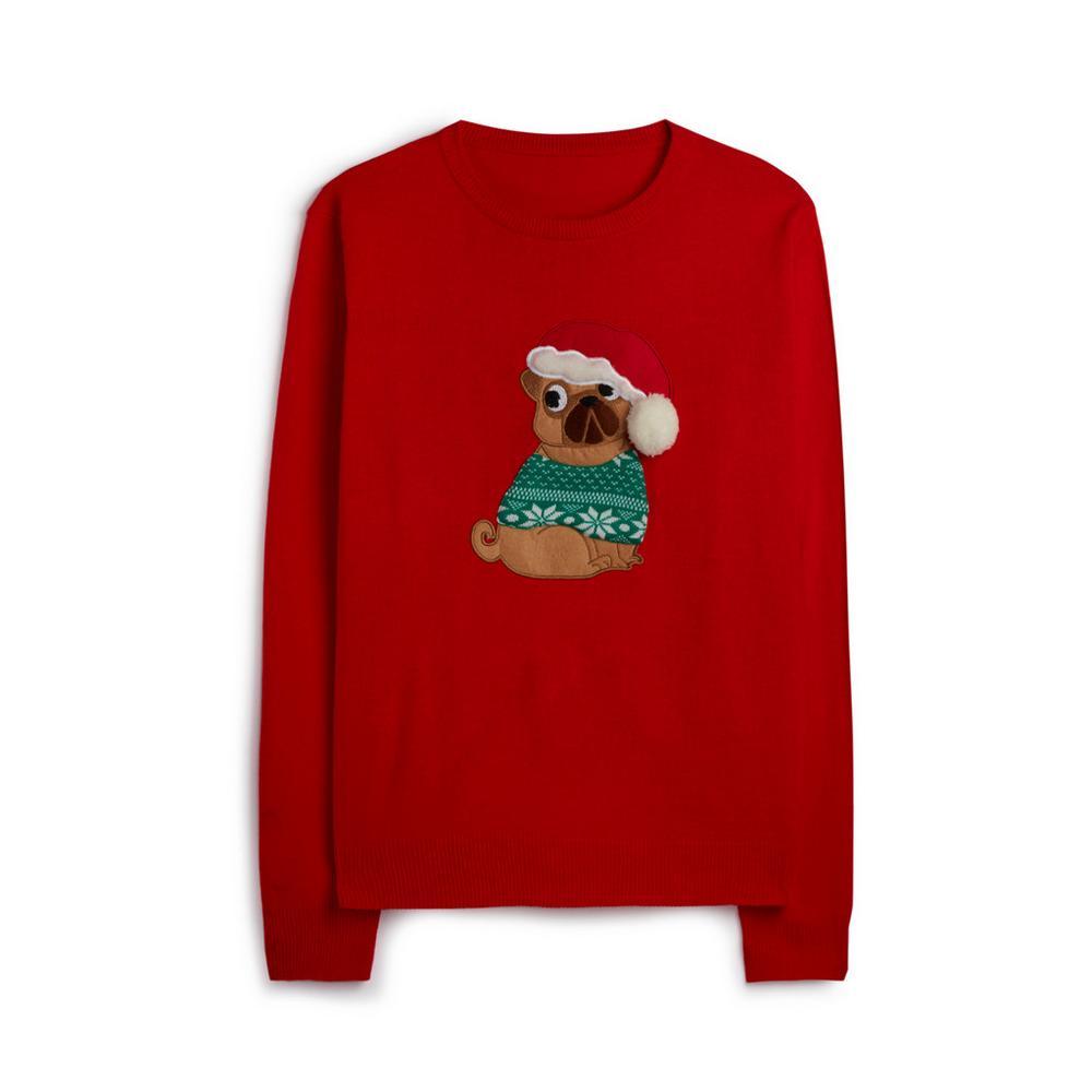 Hedgehog Christmas Jumper.Red Dog Christmas Jumper Jumpers Sweaters Jumpers