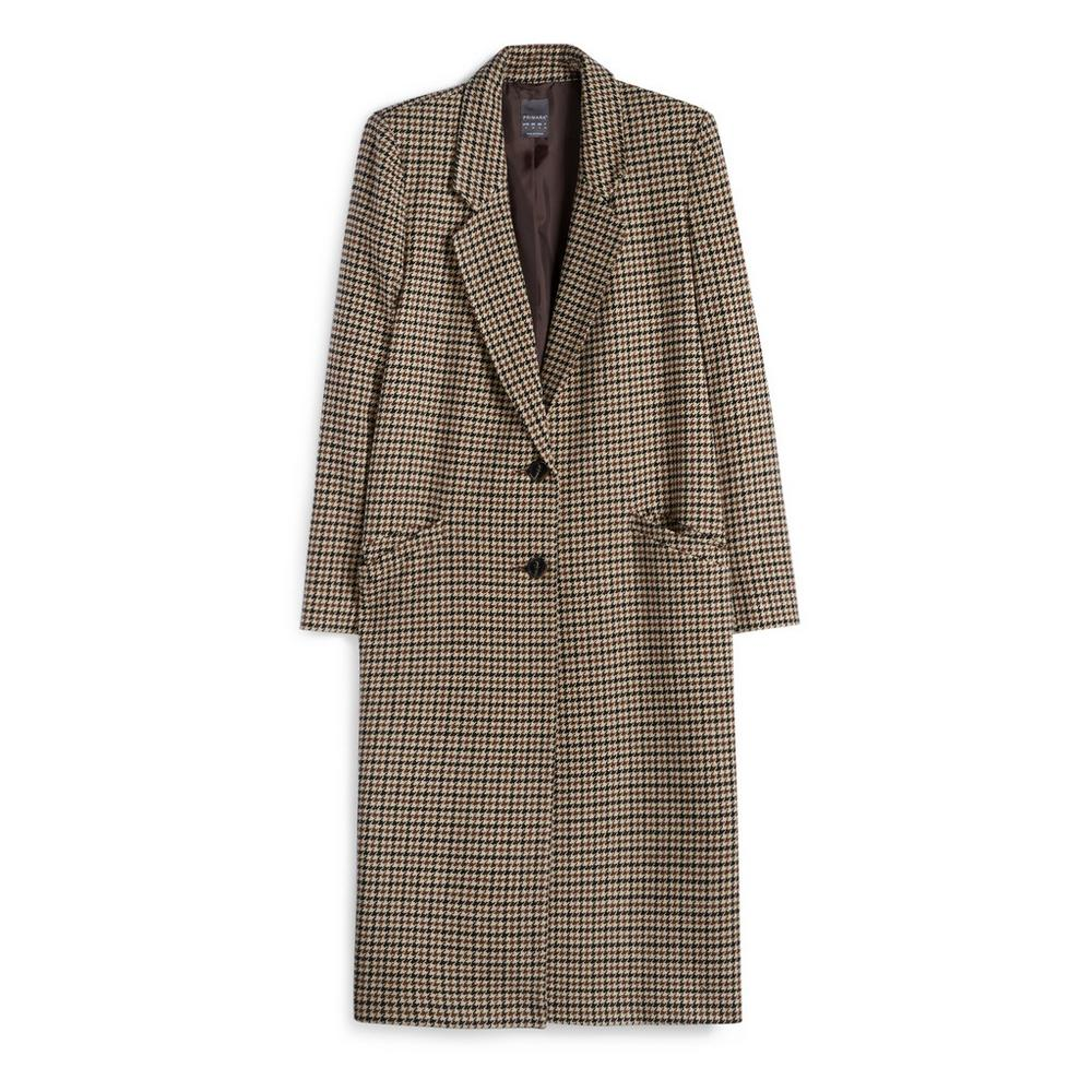 brown-check-coat by primark