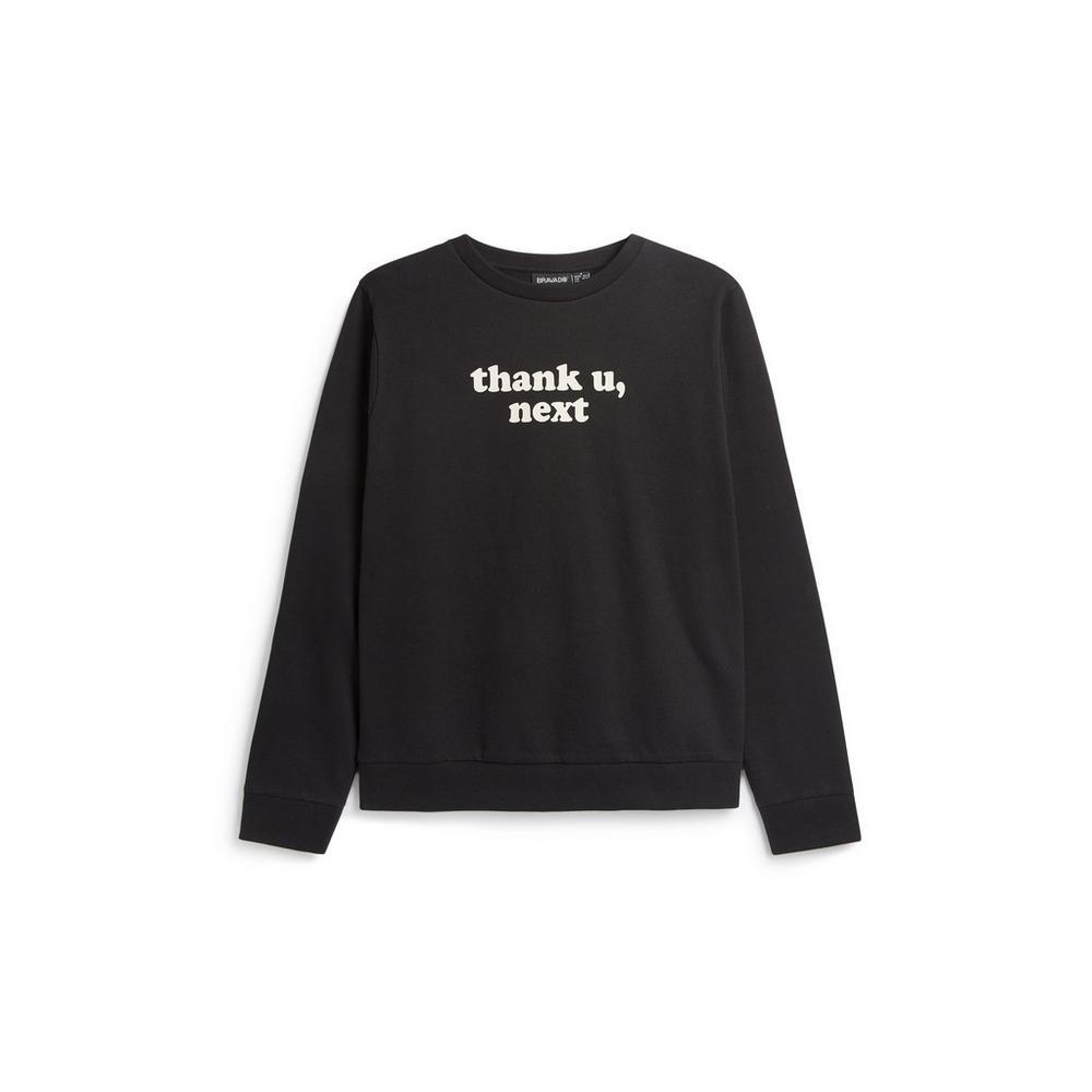 9cc03fa5bf Ariana Grande Thank U Next Sweatshirt   Jumpers & Sweaters   Jumpers ...