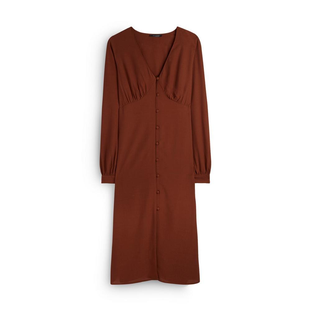Tan Midi Dress by Primark