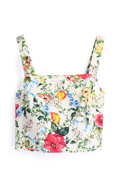 Floral Garden Co-Ord Top