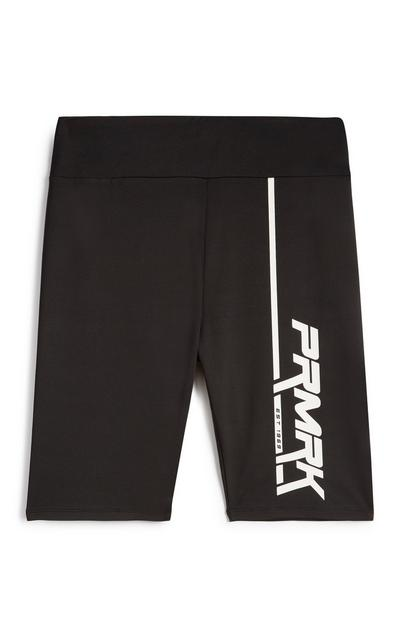 Black PRMRK Cycling Shorts