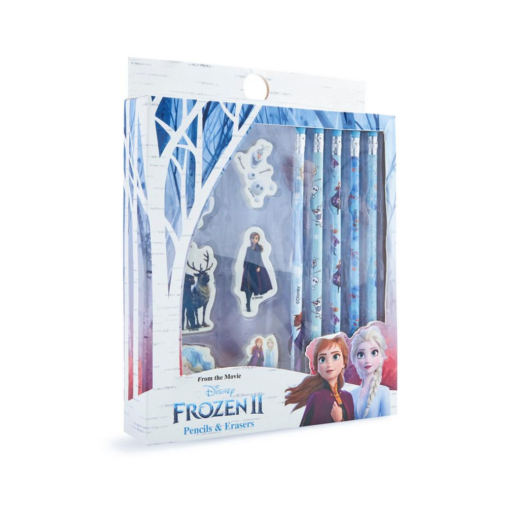Frozen Pencil And Eraser Set by Primark