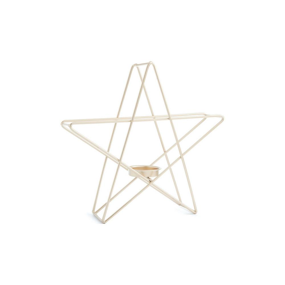 Star Tealight Holder by Primark