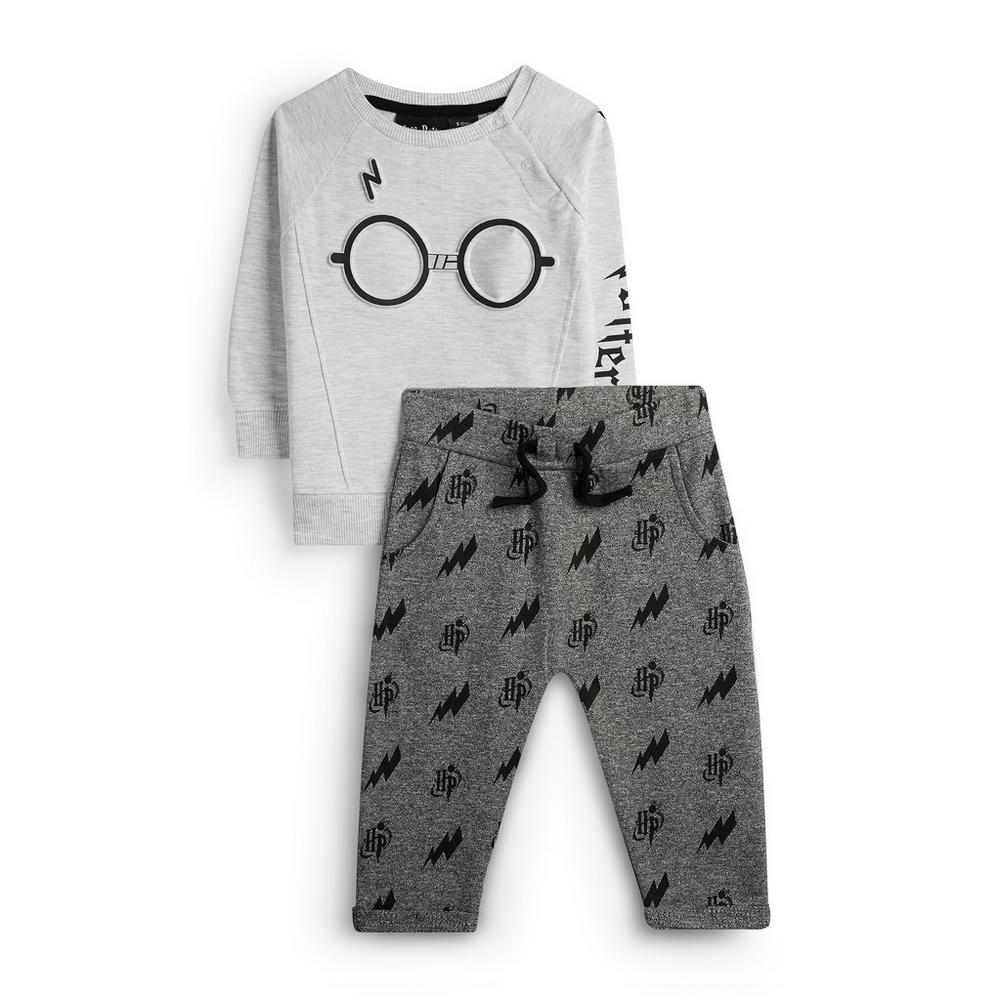Baby Boy Harry Potter Jumper And Joggers by Primark