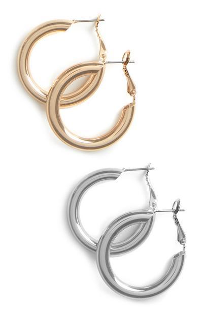Hoop Earring 2Pk