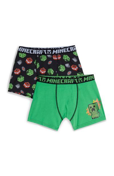 Minecraft Boxers 2Pk