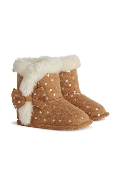 Baby Girl Fluffy Boots