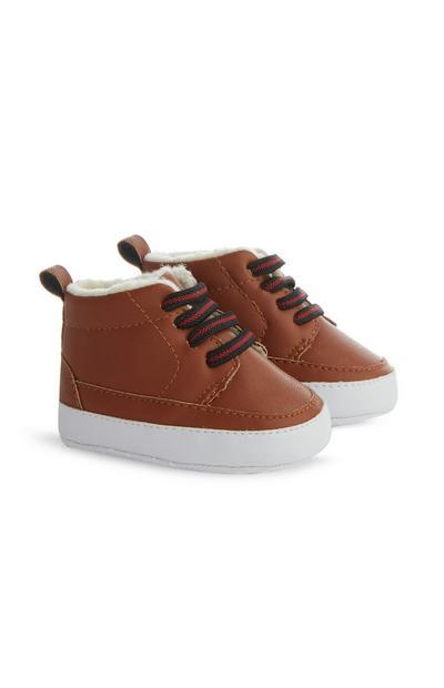 Baby Boy Tan Boot