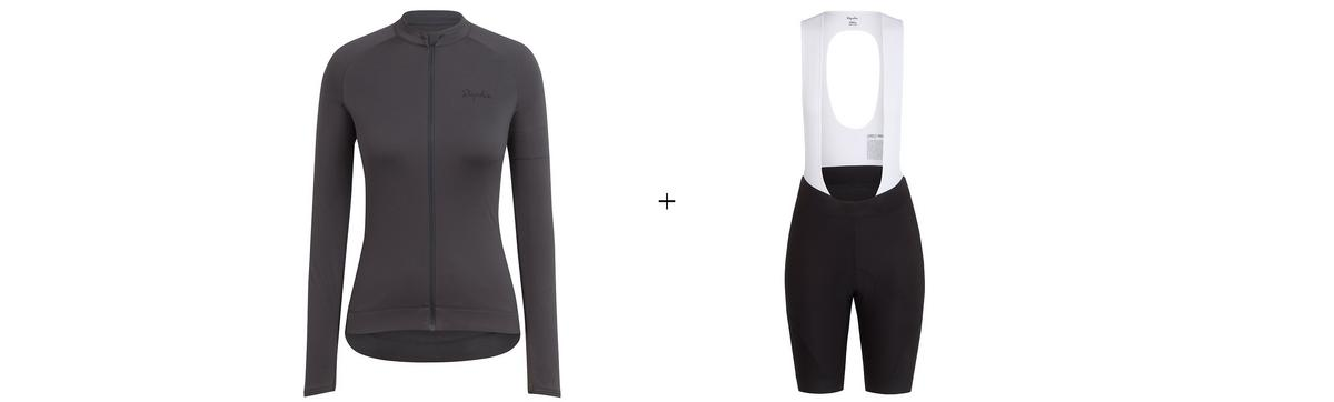Women's Longsleeve Core Jersey & Core Bib shorts Bundle
