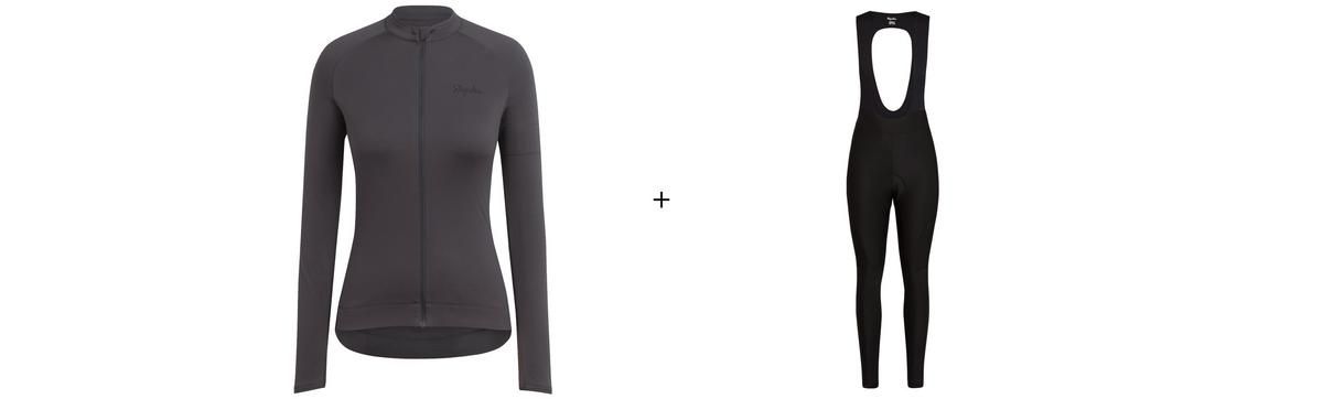 Women's Long Sleeve Core Jersey & Core Winter Tights Bundle