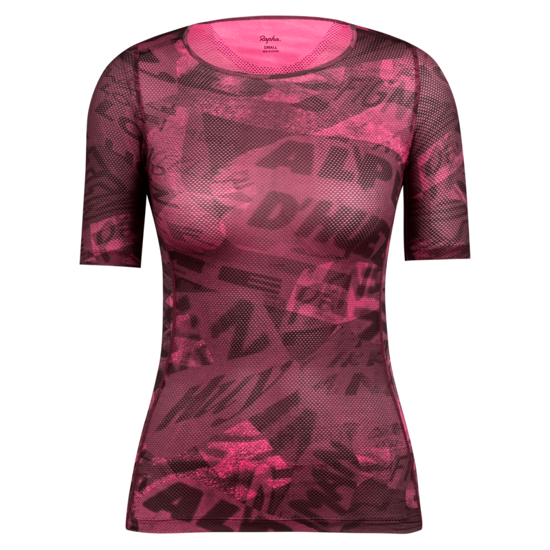 Graffiti Print Souplesse Mesh Base Layer