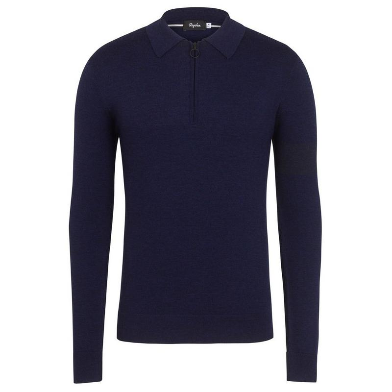 Long Sleeve Merino Polo