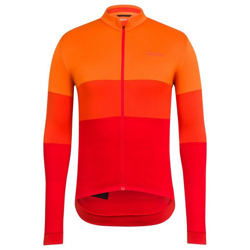 Long Sleeve Tricolour Jersey
