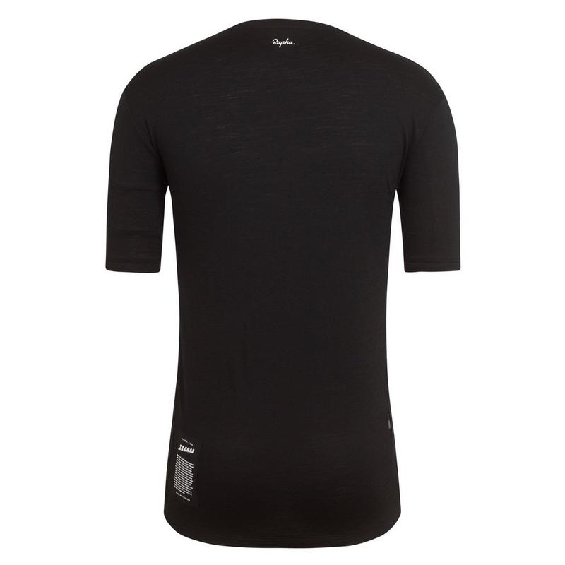 Embroidered Izoard Merino T-Shirt