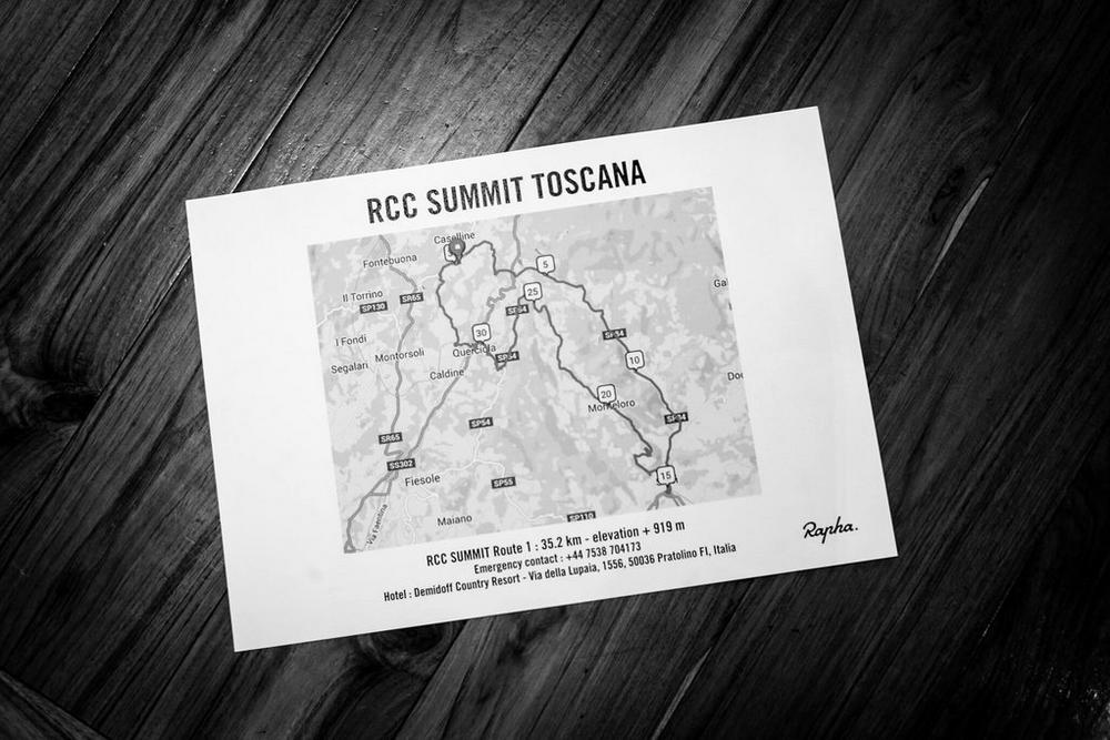 Rapha Cycling Club Summit Tuscany