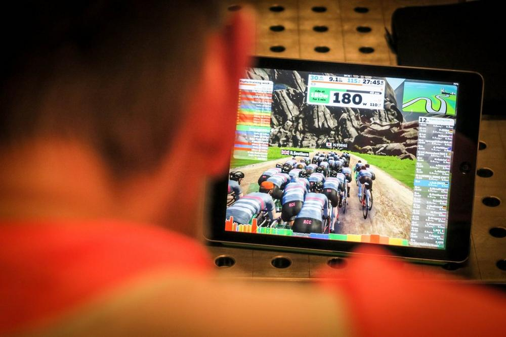 Rapha Cycling Club x Zwift