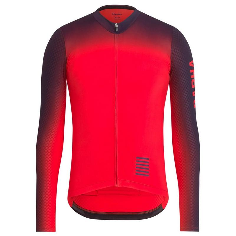 Pro Team Long Sleeve Aero Jersey - Colourburn