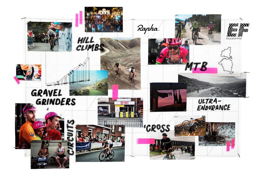 EF Education First / Rapha Calendrier alternatif
