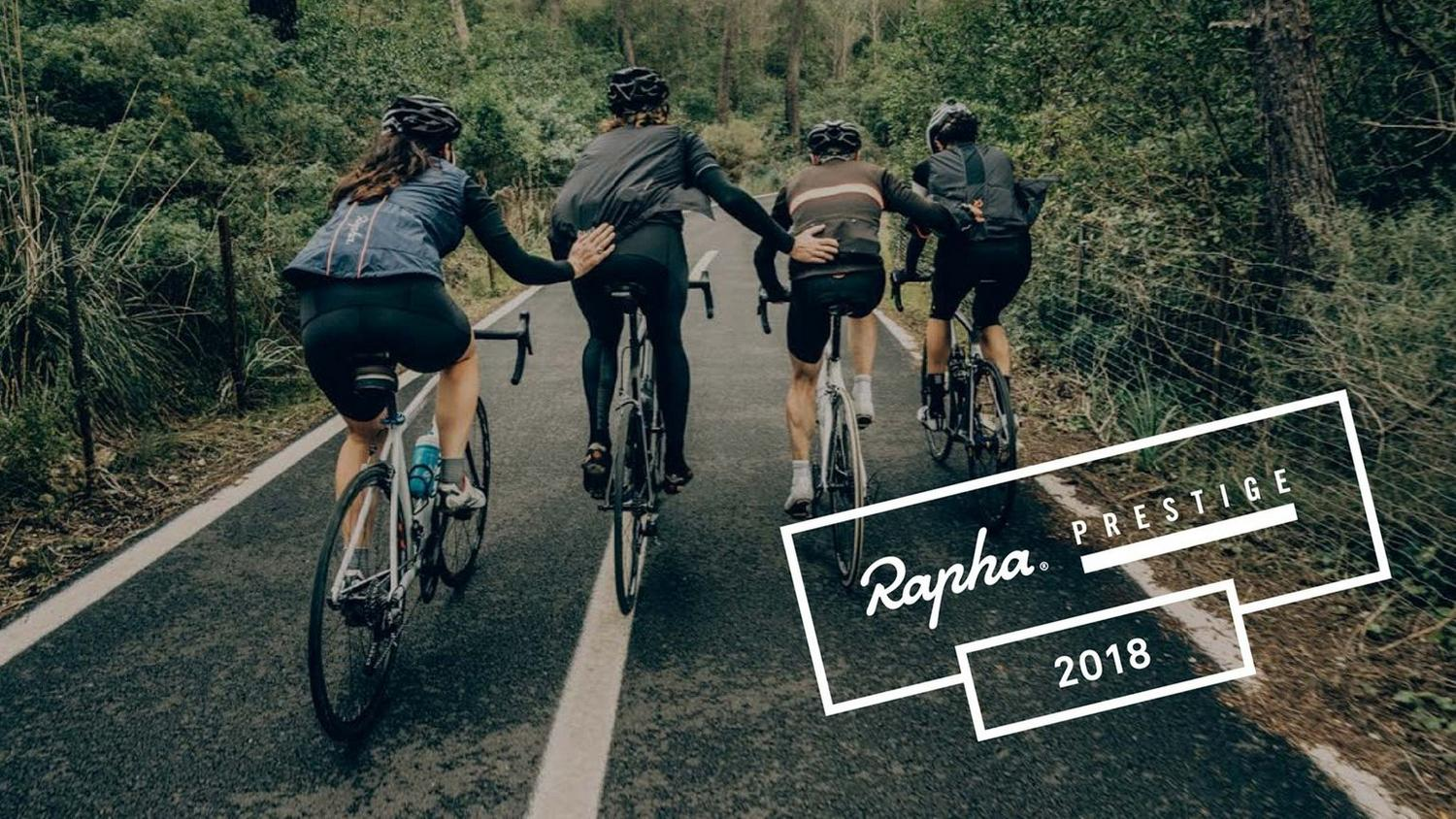 The Rapha Prestige Landing page