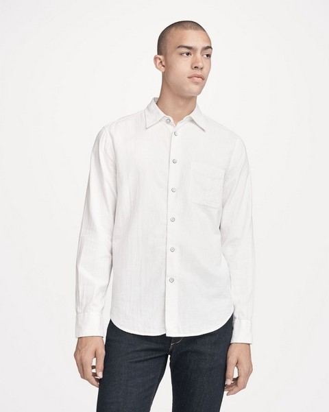 RAG & BONE FIT 3 CLASSIC BEACH SHIRT