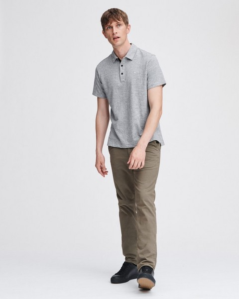 RAG & BONE Classic Cotton Polo