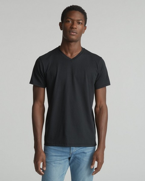 RAG & BONE CLASSIC BASE V-NECK TEE