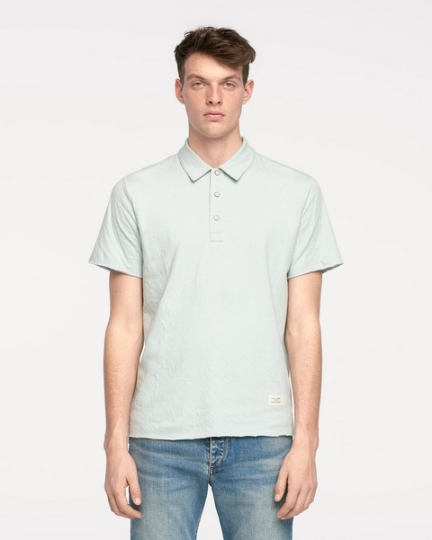 RAG & BONE STANDARD ISSUE DOUBLE KNIT POLO