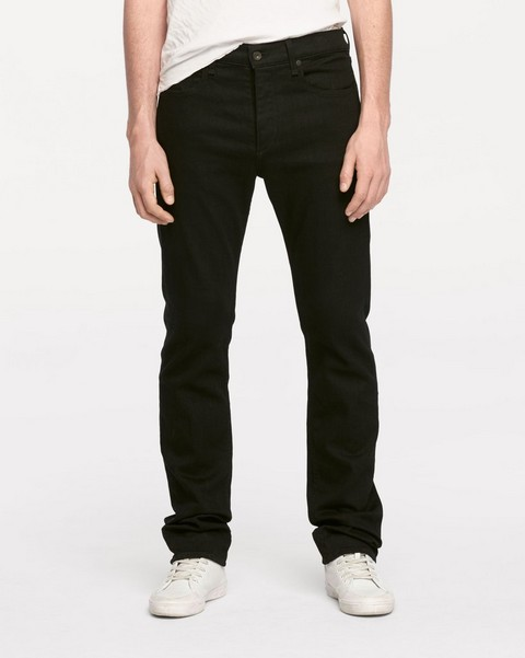 RAG & BONE FIT 3 IN BLACK