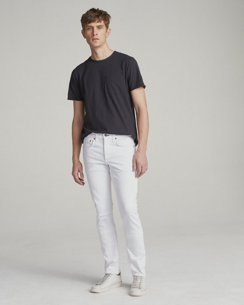 RAG & BONE FIT 1 IN WHITE