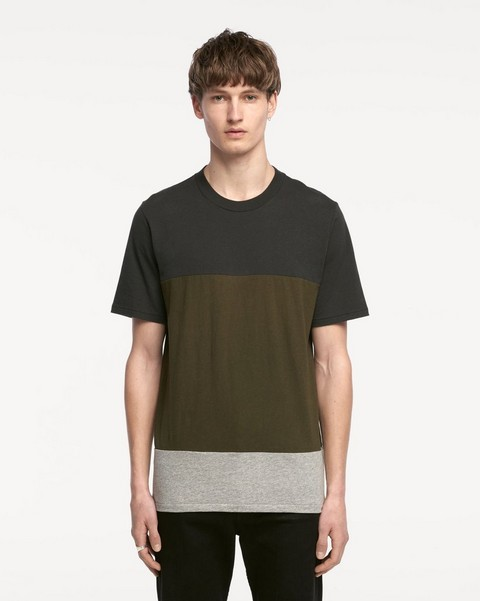 RAG & BONE PRECISION BLOCK TEE
