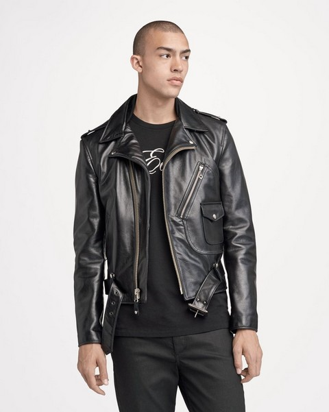 RAG & BONE SCHOTT LEATHER JACKET