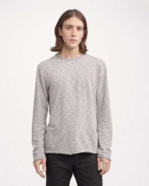 RAG & BONE OWEN TEE LONG SLEEVE