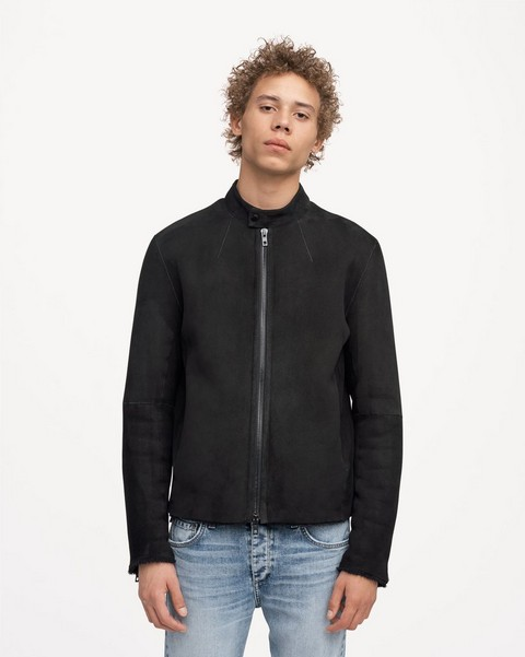 RAG & BONE SHEARLING RACER JACKET