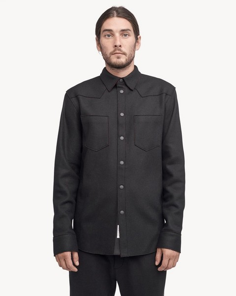 RAG & BONE RAW EDGE LARAMIE SHIRT