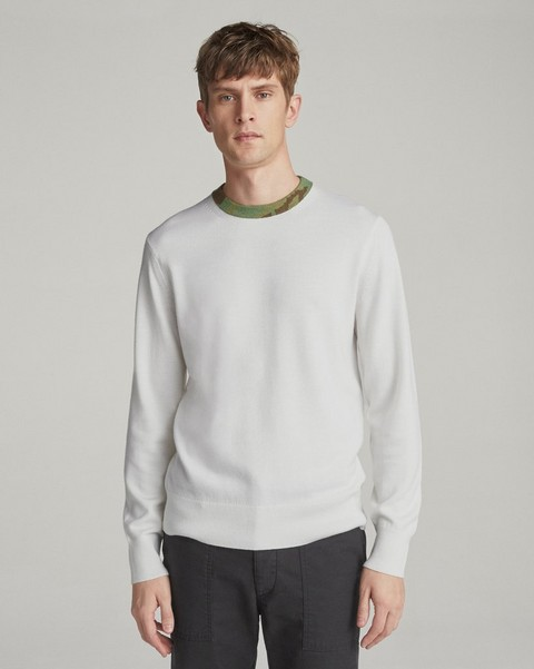 RAG & BONE CAMO NECK CREW