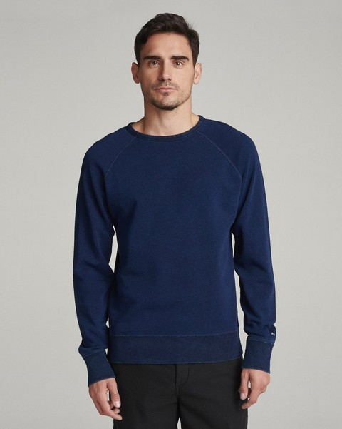 RAG & BONE TRUE INDIGO SWEATSHIRT