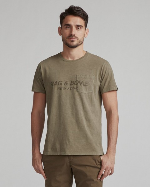 RAG & BONE RAG & BONE UPSIDE DOWN TEE