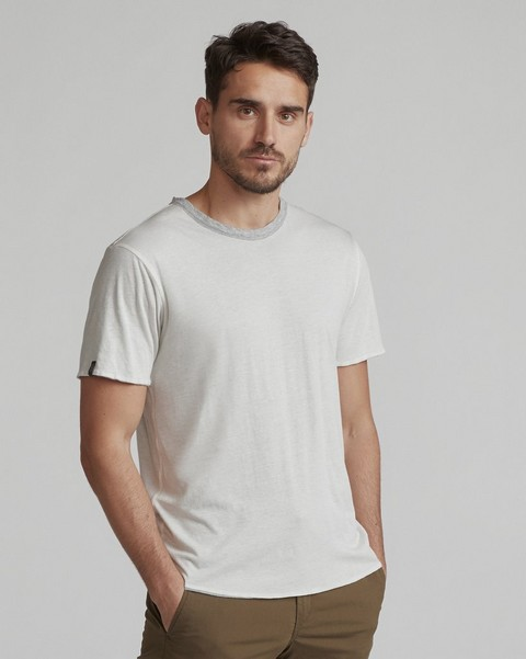 RAG & BONE REVERSE SHORT SLEEVE TEE