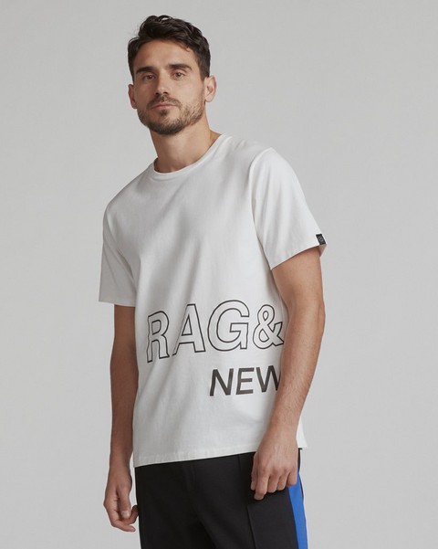 RAG & BONE RB WRAP AROUND TEE