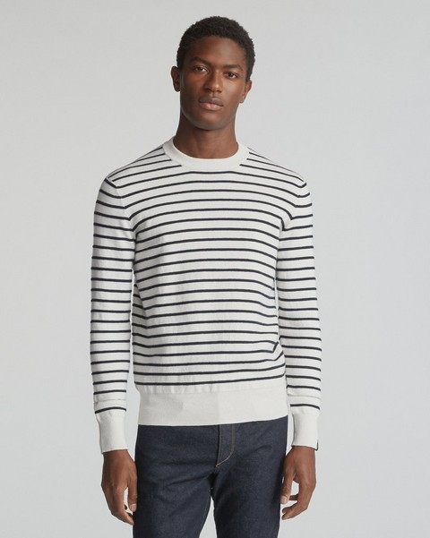 RAG & BONE SAM STRIPE CREW