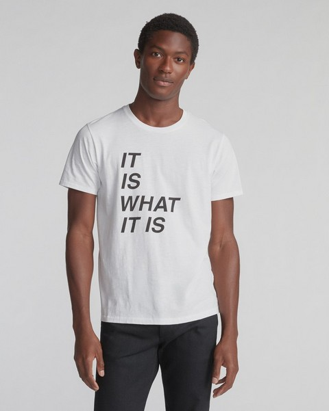 RAG & BONE IT IS WHAT IT IS TEE