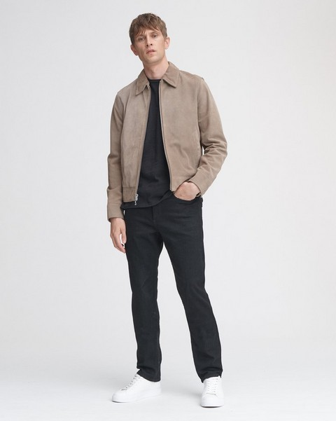 RAG & BONE SUEDE GARAGE JACKET