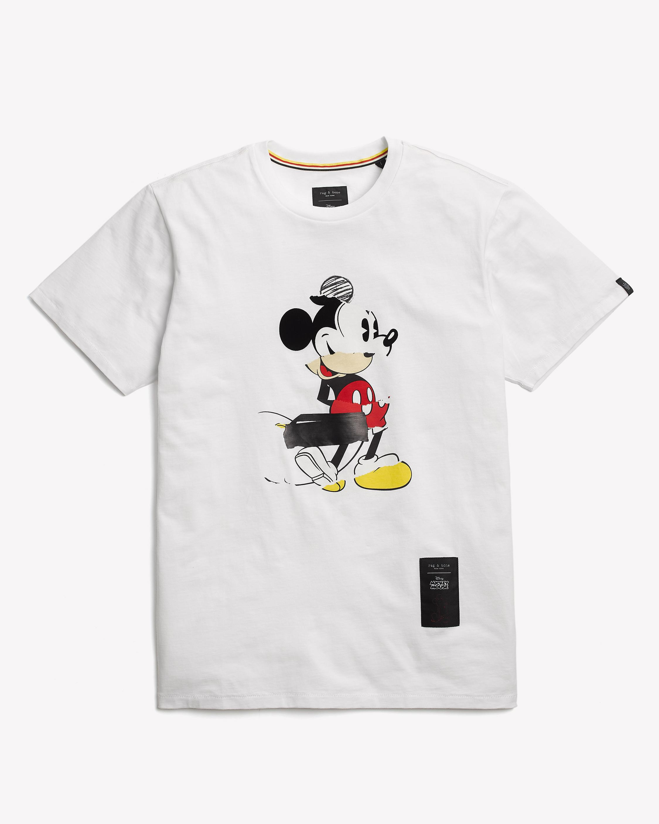 d4241b0f Mickey Collage Tee | Mickey Mouse Shop the Collection | rag & bone