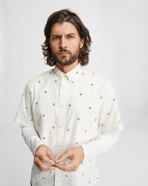 RAG & BONE FIT 2 S/S TOMLIN SHIRT