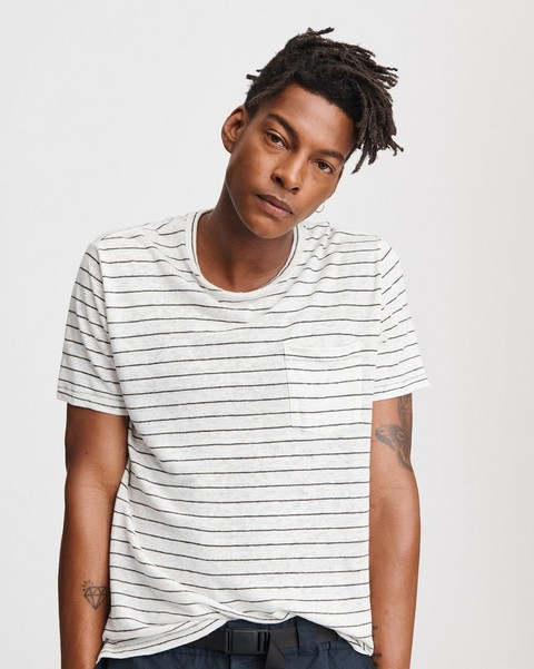 RAG & BONE STRIPE OWEN TEE