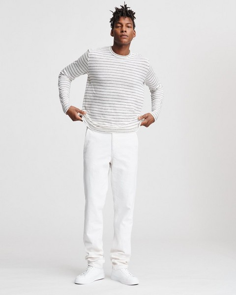 RAG & BONE STRIPE OWEN Long Sleeve TEE