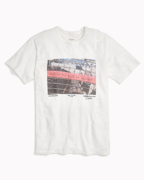 RAG & BONE LIMITED EDITION TEE BY GABRIEL-KANE DAY-LEWIS